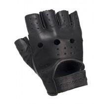 Booster Custom Motorcycle Glove - Black