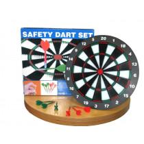 Kinder Safety Dartbord Incl. 6 Darts