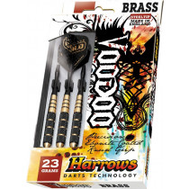 Harrows Voodoo Ebonite Brass Steeltip Dartpijlen