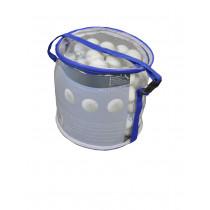 Rucanor Single Circle case Table Tennis Balls 40 mm 100 pcs - White