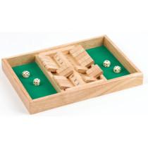 Longfield Shut The Box Dubbel 34 X 24 X 4 cm