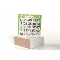Longfield bingokaarten papier set van 500