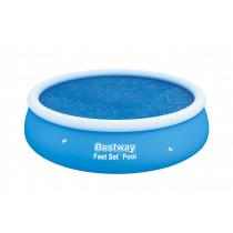 Bestway Round Solar Cover - 2.10 m