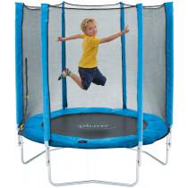 Plum Junior trampoline en behuizing-Blauw 1,3m