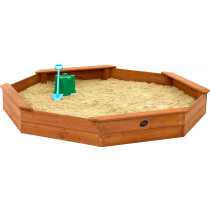 Plum Grote houten zandbak