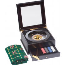 Buffalo Luxury Roulette Set + 200 Chips Included - 11,5 gr