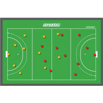 Sportec Magnetisch Hockey Coach Bord