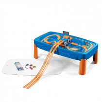 Step 2 Hot Wheels Car & Track Circuit Race Circuit - Blue / Orange