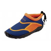 Beco Surf- Zwemschoen Neopreen Junior - Blauw/Oranje