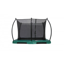 Inground Hi-Flyer 0965 Combi Trampoline + Safety Enclosure - 280 cm x 200 cm - Green