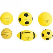 Super-Safe Volleybal 18cm - Geel