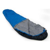Mundo Cosmic Sleeping Bag - Blue / Black / Grey
