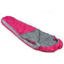 Mundo Journey Sleeping Bag - Pink / Grey