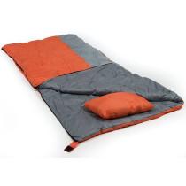 Mundo Canyon Sleeping Bag - Orange / Grey