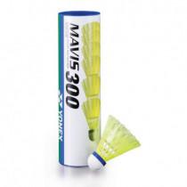 Yonex Mavis 300 Nylon Badminton Shuttles Geel - 6 stuks