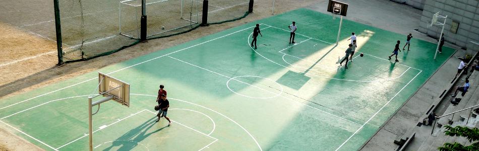 Basketbal Spullen